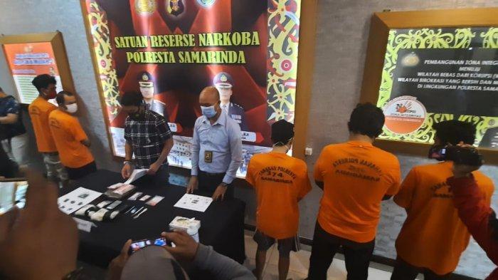 Polresta Samarinda Amankan Narkotika Jenis Sabu yang Dikirim dari Aceh Seberat Satu Kilogram