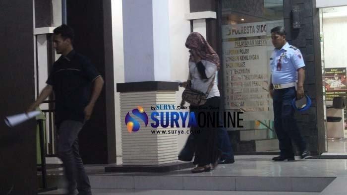 Diperiksa Polresta Sidoarjo, Begini Sikap FS, Istri Anggota TNI yang Nyinyir Soal Penusukan Wiranto