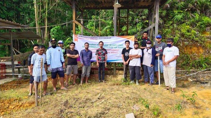 Bantu Penyediaan Air Bersih-Sehat, Poltekba Terapkan Teknologi Pengolahan Air Bersih di Graha Indah