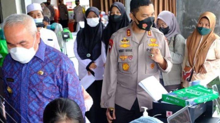 Pesantren di Balikpapan jadi Sasaran Vaksinasi Merdeka, Disaksikan Presiden Jokowi via Virtual