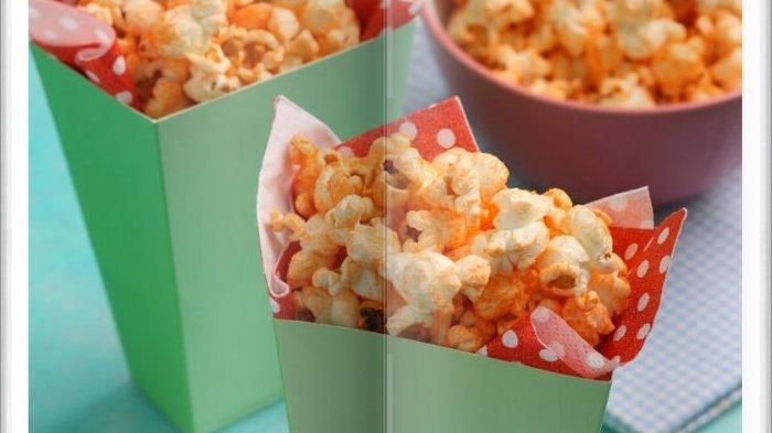 Cara Bikin Popcorn Cheesy Super Enak, Sangat Cocok Jadi CamilanSaat Malam Hari