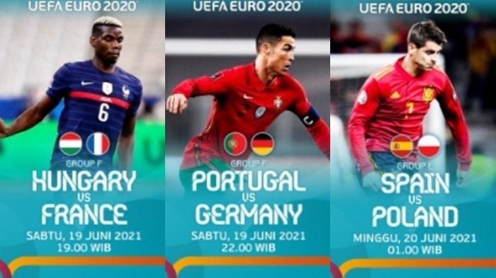 Siaran Langsung EURO 2020 Malam Ini: Portugal vs Jerman, Hidup Mati Der Panzer di Tangan Ronaldo Cs