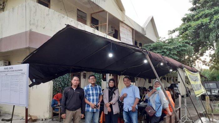 BPBD dan Polda Kaltim Dirikan Posko Kebakaran di Wisma Segara Balikpapan, Pakaian Sekolah Dibutuhkan