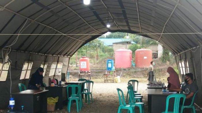 Posko Covid 19 Pindah di Terminal Sangatta, Pendatang Tetap Wajib Jalani Pemeriksaan