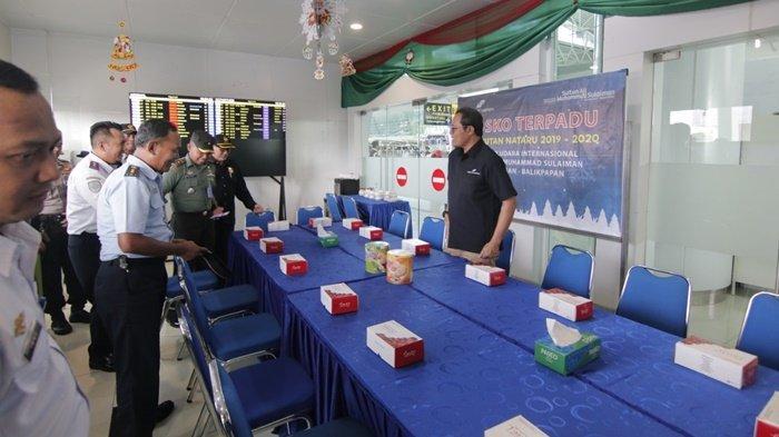 Posko Natal dan Tahun Baru Bandara SAMS Sepinggan Dibuka Hari Ini 18 Desember, Tak Ada Extra Flight