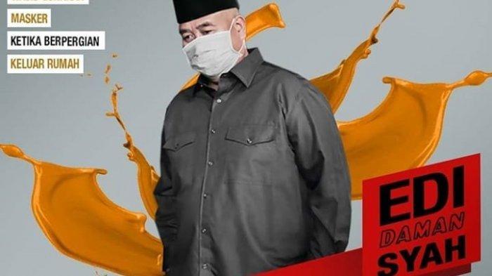Sesuai Anjuran WHO, Bupati Kukar Ajak Warga Untuk Mengenakan Masker Ketika Berada di Luar Rumah