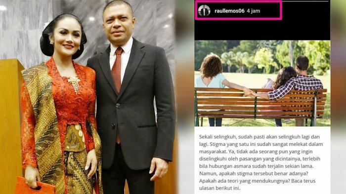 Postingan Raul Lemos Tentang Selingkuh di Instagram Sindir Krisdayanti? Begini Unggahan Terbarunya