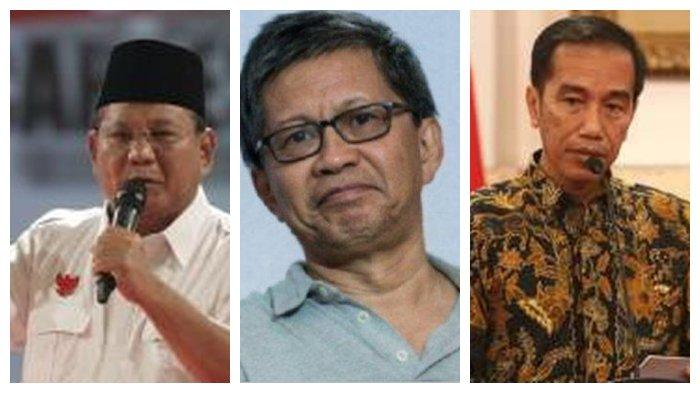 Alasan Rocky Gerung Tinggalkan Prabowo Subianto Bos Partai Gerindra, Sebut 'Nyampah', Karena Jokowi?