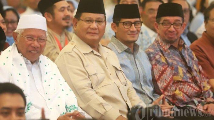 Prabowo-Sandi Dipastikan tak Hadiri Sidang Putusan MK, Massa Pendukung Diimbau tidak Turun ke Jalan