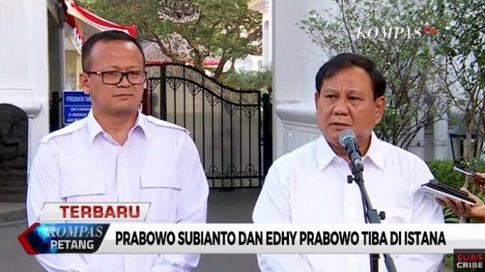 Prabowo Subianto Dipilih Jokowi Masuk Kabinet, jadi Menteri Pertahanan Gajinya tak Mau Diambil