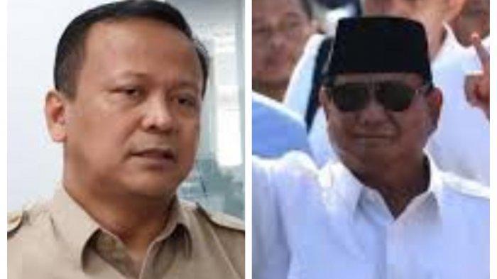 Masa Lalu Edhy Prabowo jadi Menteri Jokowi, Bernasib Sama dengan Prabowo Subianto, Gagal di Militer