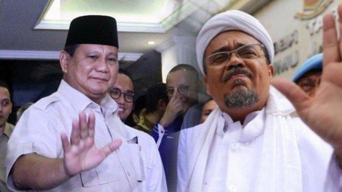 Soal Polemik Kepulangan Rizieq Shihab dari Arab Saudi, Akhirnya Menhan Prabowo Subianto Turun Tangan