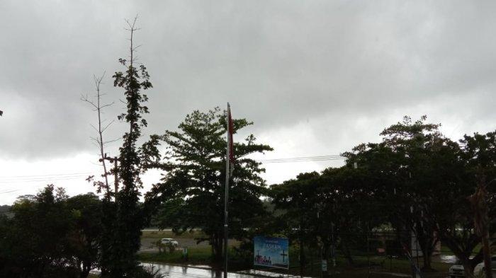 Prakiraan Cuaca Bulungan Kalimantan Utara Hari Ini, Hujan Lebat Disertai Petir Terjadi Sore Nanti