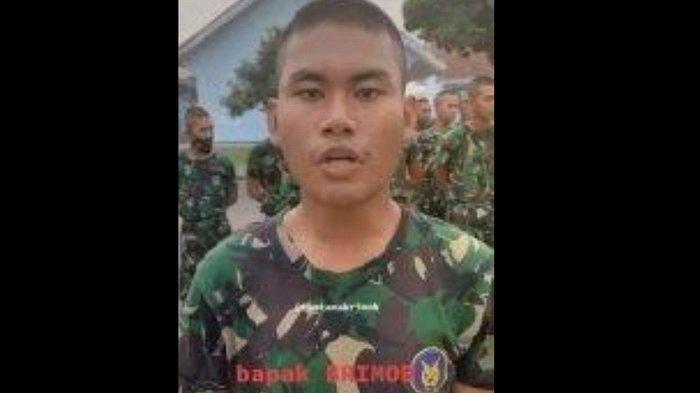 VIRAL! Prajurit TNI yang Punya Nama Lebih 'TInggi' dari Pangkatnya Ini Ternyata Anak Anggota Brimob