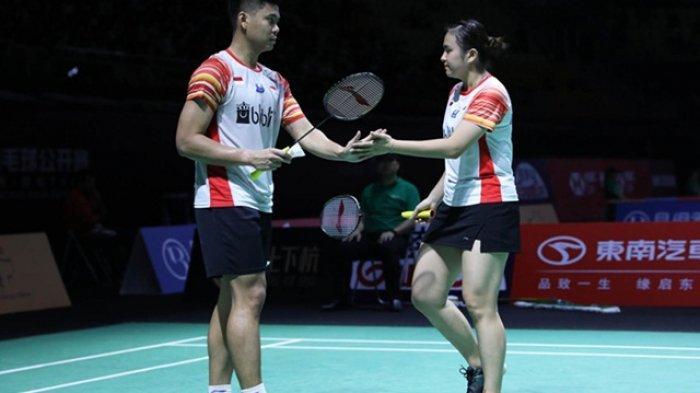 Hasil Fuzhou China Open 2019 - Kalahkan Wakil Jepang, Praveen/Melati Melenggang ke Babak Kedua