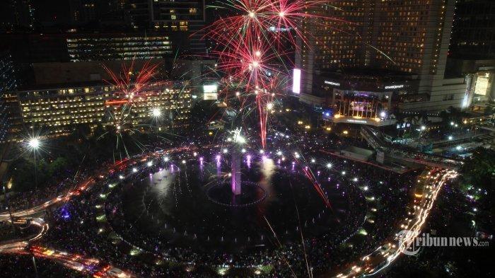 Ada Promo Midnight Sale hingga Nikah Massal, Berikut Daftar Acara Tahun Baru 2020 di Jakarta