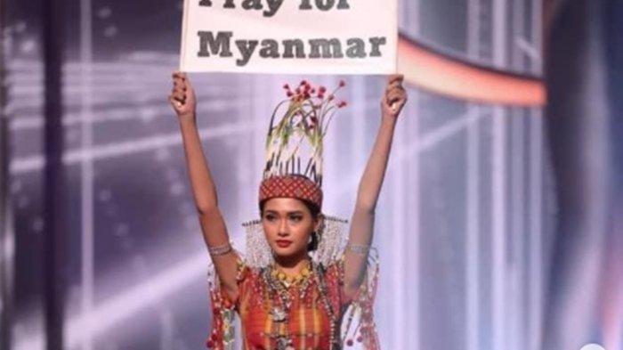 Koper Hilang & Pakai Kostum Pengganti, Myanmar Menangkan Best National Costume di Miss Universe 2020