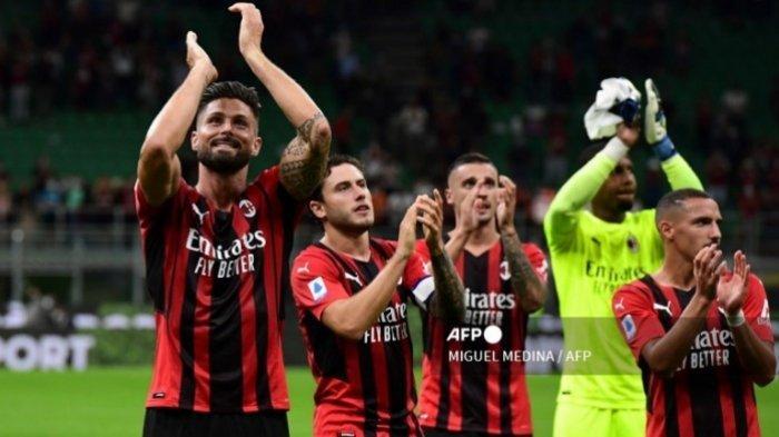 Prediksi Line Up dan Head to Head AC Milan vs Lazio, Kabar Baik Olivier Giroudbagi Rossoneri