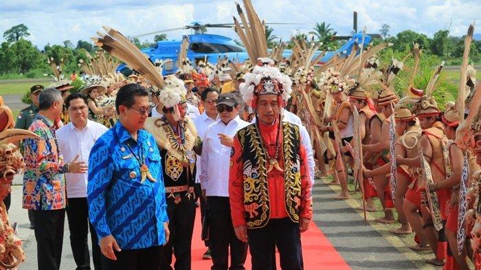 Jokowi Berkunjung ke Malinau, Presiden akan Datang Lagi di Perayaan Irau, Oktober 2020