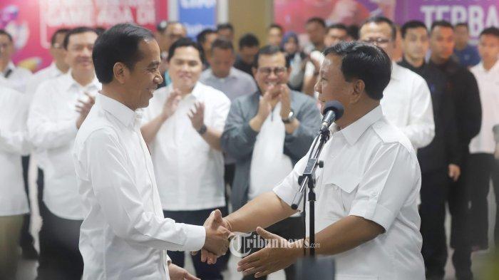 Pertemuan Jokowi dan Prabowo, Naik MRT, Makan Siang di Senayan, Disaksikan Punokawan, Ini Maknanya