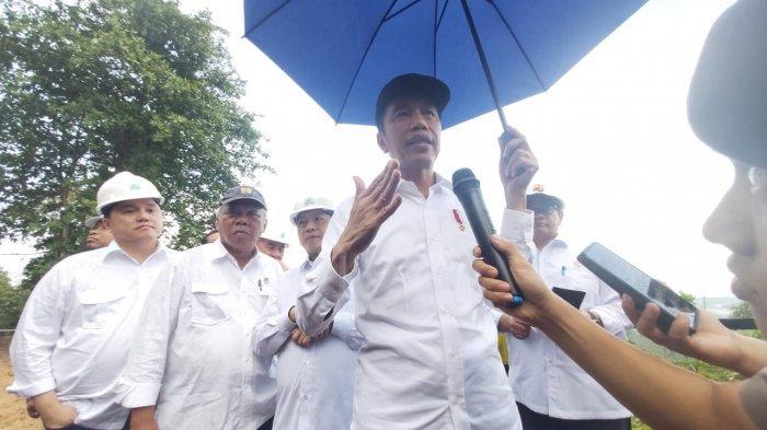 Jokowi Mengaku Kulo Nuwun ke Tokoh Adat Kaltim, Rencana Bangun Ibu Kota Negara