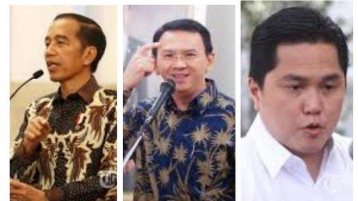 Erick Thohir Beberkan Posisi Ahok di BUMN Ada di Tangan Presiden, Jokowi Sebut Belum Pasti Menjabat