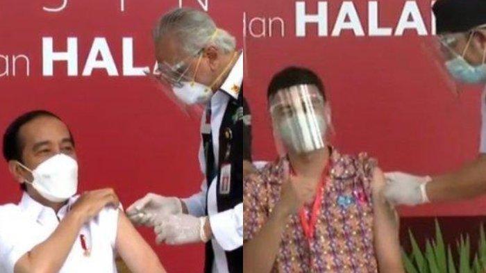 Tak Disuntik Vaksin Sinovac Bareng Jokowi, DPR RI Tak Tinggal Diam, Bandingkan dengan Raffi Ahmad