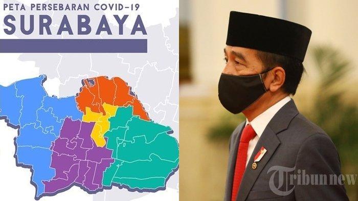 PSBB Surabaya Tak Mampu Tekan Covid-19 di Jatim, Presiden Jokowi Kirim 3 Jenderal ke Wilayah Risma