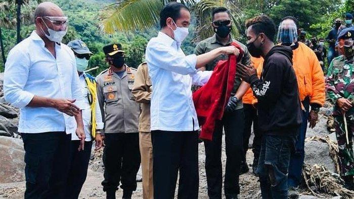 Frans Kaget Temukan Sesuatu di Kantong Jaket yang Diberi Jokowi, tak Sangka Presiden Simpan Beginian