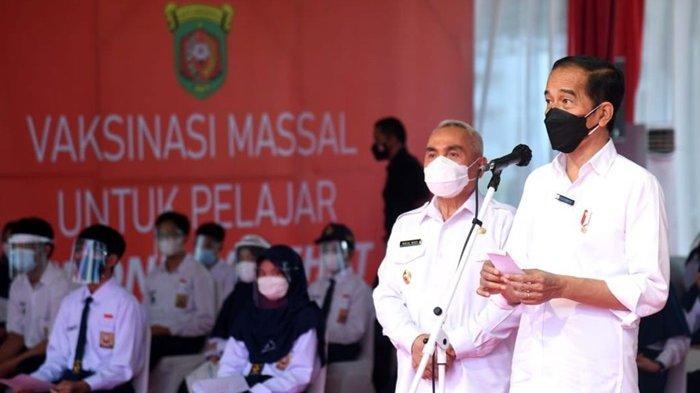 Masukan Gubernur Ke Presiden Joko Widodo, Animo Masyarakat Tinggi tapi Vaksinnya Terbatas