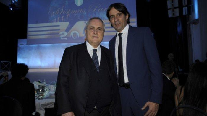 Update Liga Italia, Pelatih Lazio Dibajak Inter Milan, Claudio Lotito Sindir Janji Simone Inzaghi
