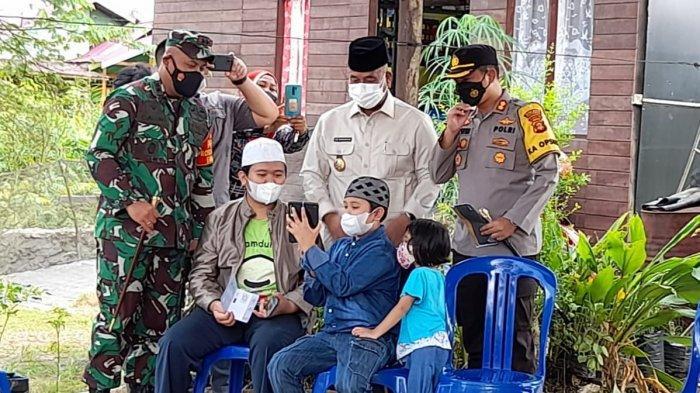 64 Anak di Kukar Yatim Piatu, Orangtua Mereka Meninggal karena Covid-19, Pemkab Salurkan Bansos