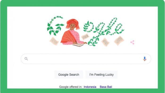 Profil Sariamin Ismail, Penulis Wanita yang Jadi Google Doodle Hari Ini, Sabtu 31 Juli 2021