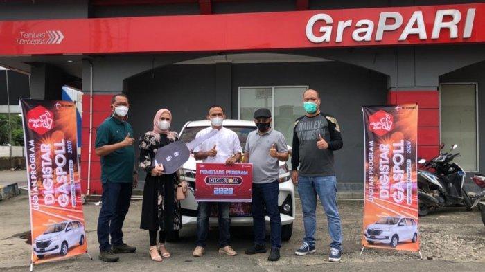 Mitra Outlet di Samarinda Raih 1 unit Mobil Toyota Avanza, Apresiasi dari Telkomsel