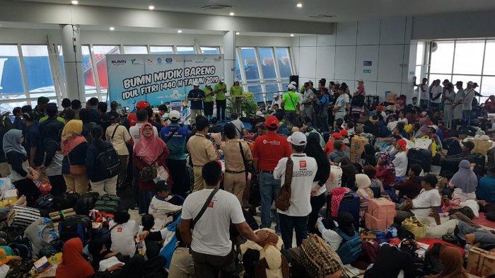 2.145 Warga Mudik Naik Kapal Gratis di Pelabuhan Semayang, Hasil Sinergi 7 BUMN di Provinsi Kaltim