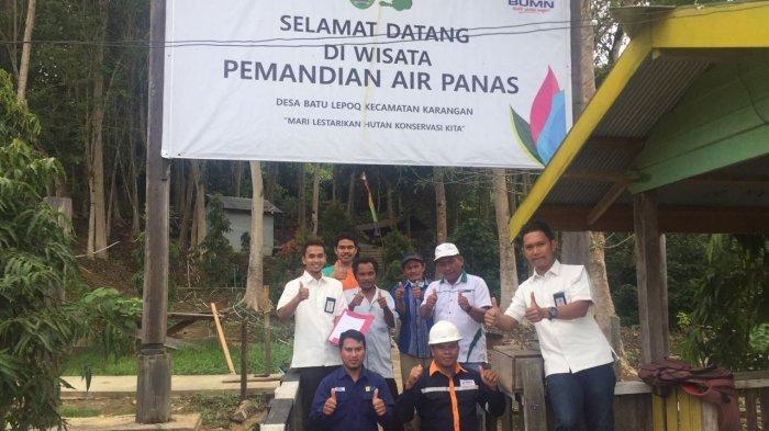 PLN Raih IGA Award 2021, Lestarikan Sumber Mata Air Panas Murni Desa Batu Lepoq di Kutai Timur