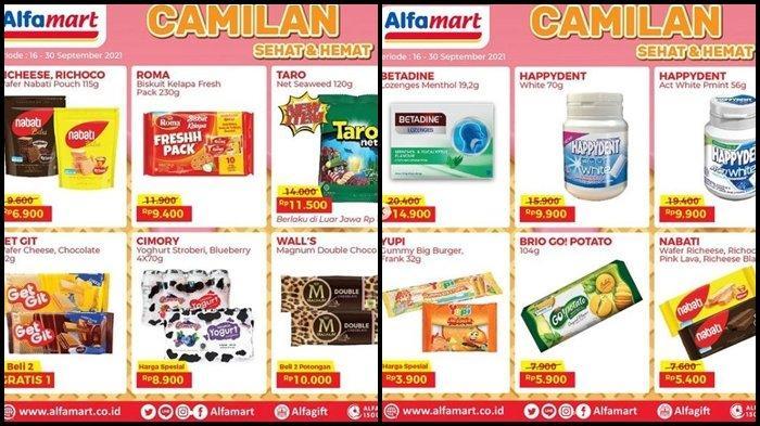 Promo Alfamart Hari ini Jumat 24 September 2021, Beli 2 Es Krim Gagnum Dapat Potongan Rp 10.000