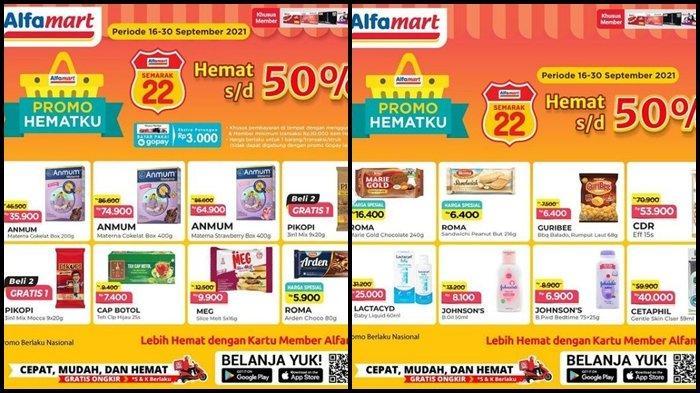 Promo Alfamart Hari Terakhir Periode 16-30 September 2021, Belanja Kebutuhan di Akhir Bulan Hemat