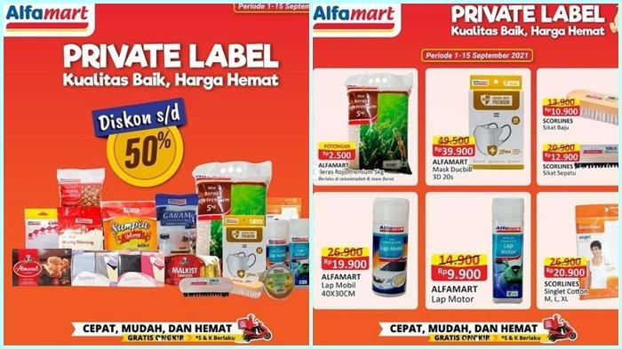 Promo Alfamart Hari ini Selasa 14 September 2021, Diskon Barang hingga 50 %, Belanja Super Hemat