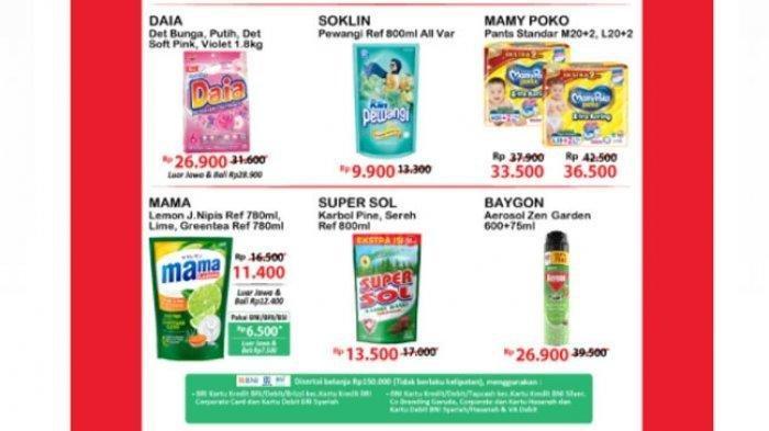 Promo Alfamart Hari ini Senin 19 Juli 2021, Belanja Super Hemat Menjelang Hari Raya Idul Adha