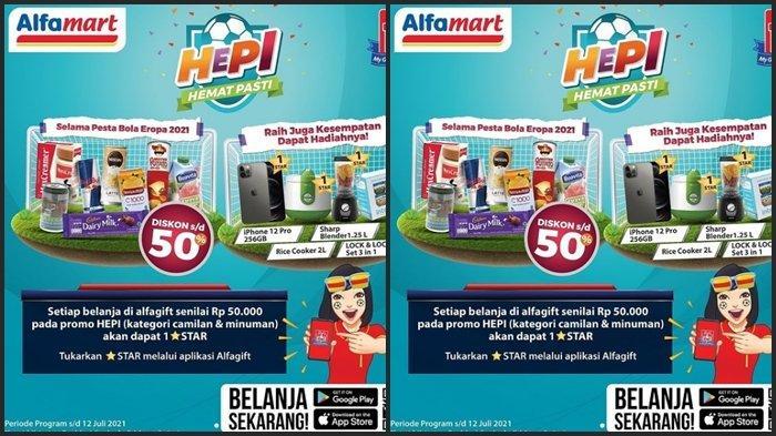 Promo Alfamart Hari ini Kamis 17 Juni 2021, Belanja Kebutuhan Hemat, Diskon Barang hingga 50 %