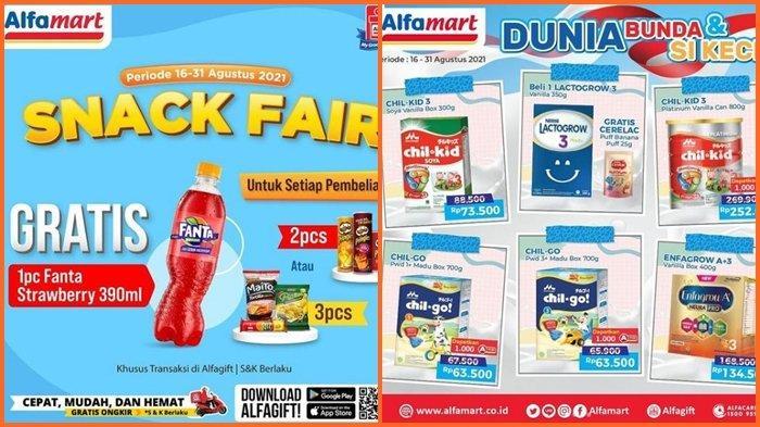 Promo Alfamart Hari ini Senin 23 Agustus 2021, Belanja Kebutuhan Rumah Tangga di Hari Kerja Hemat