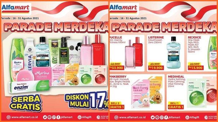 Promo Alfamart Hari ini Jumat 20 Agustus 2021, Beli 1 Gratis 1, Ada Diskon Barang hingga 17 %