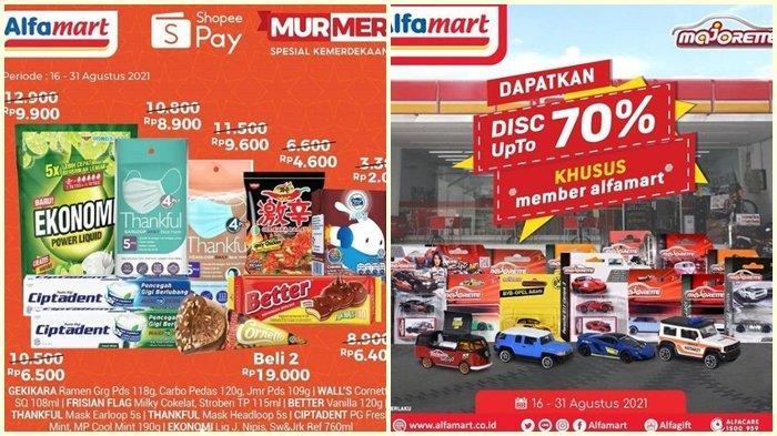 Promo Alfamart Hari ini Jumat 27 Agustus 2021, Dapatkan Diskon hingga 70 %, Belanja Super Hemat