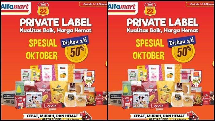 Promo Alfamart Hari ini Jumat 8 Oktober 2021, Belanja Kebutuhan Jadi Makin Hemat, Diskon hingga 50 %