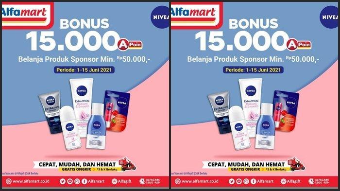 KATALOG PROMO Alfamart Rabu 9 Juni 2021, Dapatkan Bonus hingga Rp 15.000, Belanja Hemat