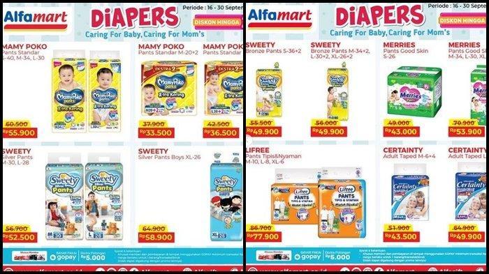 Promo Alfamart Rabu 29 September 2021, Belanja Pampers hingga Camilan untuk Anak Super Murah