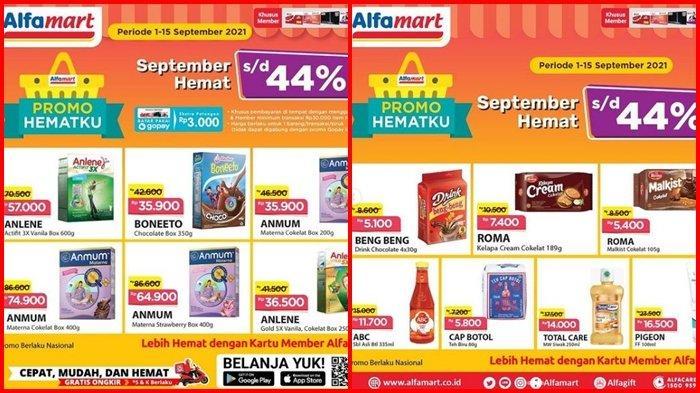 Promo Alfamart Hari ini Sabtu 11 September 2021, Belanja Hemat di Akhir Pekan, Diskon hingga 44 %