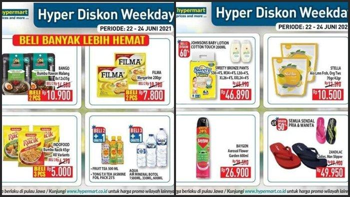 Promo Hypermart Hari ini Rabu 23 Juni 2021, Beli 1 Gratis 1, Belanja 2 Sabun Anak Diskon 60 %