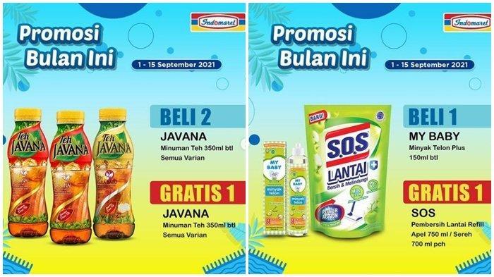 Promo Indomaret Rabu 8 September 2021, Beli Minyak Telon Gratis Pembersih Lantai, Belanja Hemat